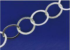 Ösenketten / lose (ø 10.2 x 14.9 mm) / 925 Silber