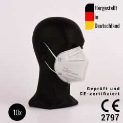 FFP2 mouth protection mask (pack of 10)