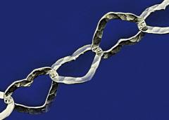Silberketten mit Karabiner