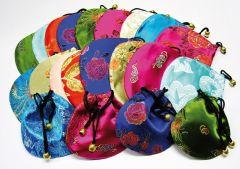 Seidenbeutel - farblich gemischt