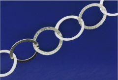 Silberketten mit Karabiner (ø 10.20 x 14.90mm) / 925 Silber