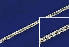 Silberketten mit Federring ( ø 1.50 mm) / 925 Silber