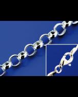 Erbsketten mit Karabiner (ø 2.2 mm) / 925 Silber